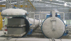 Autoclave For AAC Plant