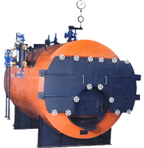 Fully Wet Back Type Smoke Tube Boiler